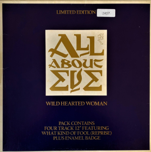 "All About Eve ‎- Wild Hearted Woman  (12"") (Ltd Box Pack) (VG/G+)"